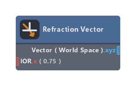 Refraction Vector