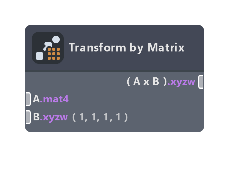Transform by Matrix