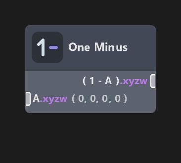 One Minus