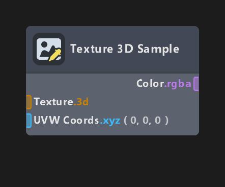 Texture 3D Sample