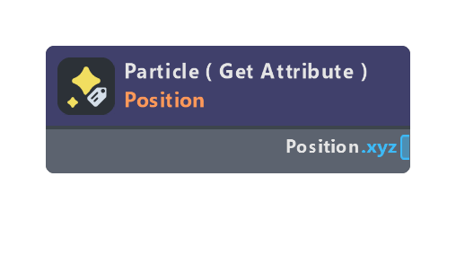 Particle ( Get Attribute )