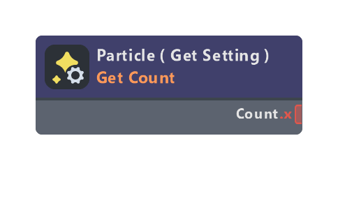 Particle ( Get Setting )