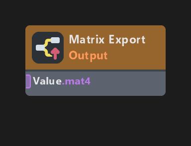Matrix Export