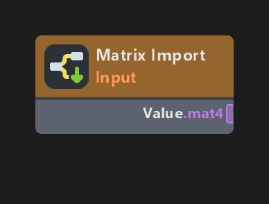 Matrix Import