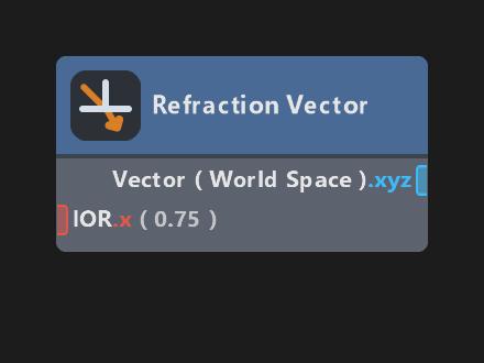 Refraction Vector