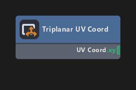 Triplanar UV Coord
