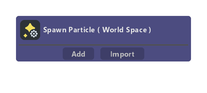 Spawn Particle