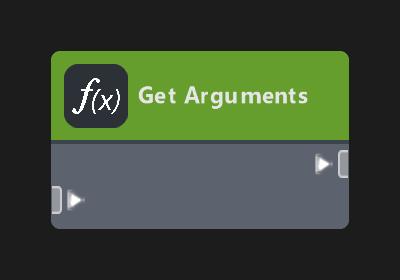 Get Arguments