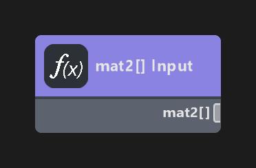 mat2 Array Input