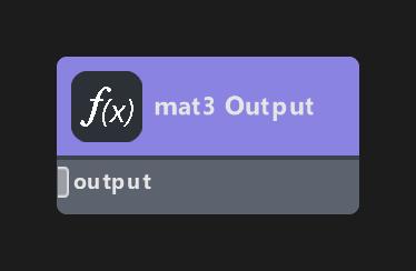 mat3 Output