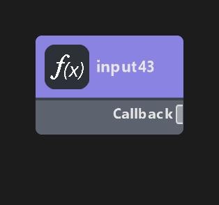 Callback Input