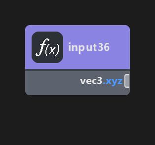 vec3 Input