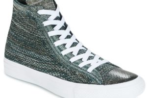 converse all star high mens green green trainers mens