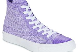 converse all star high mens purple purple trainers mens