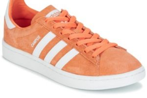 adidas campus womens orange orange trainers womens