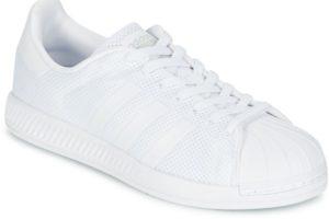 adidas superstar mens white white trainers mens