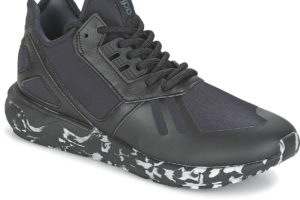adidas tubular mens black black trainers mens