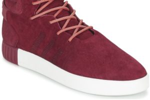 adidas tubular mens red red trainers mens