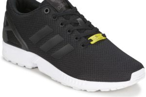 adidas zx flux mens black black trainers mens