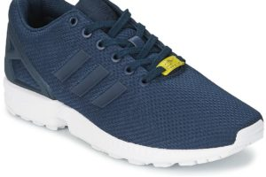 adidas zx flux mens blue blue trainers mens