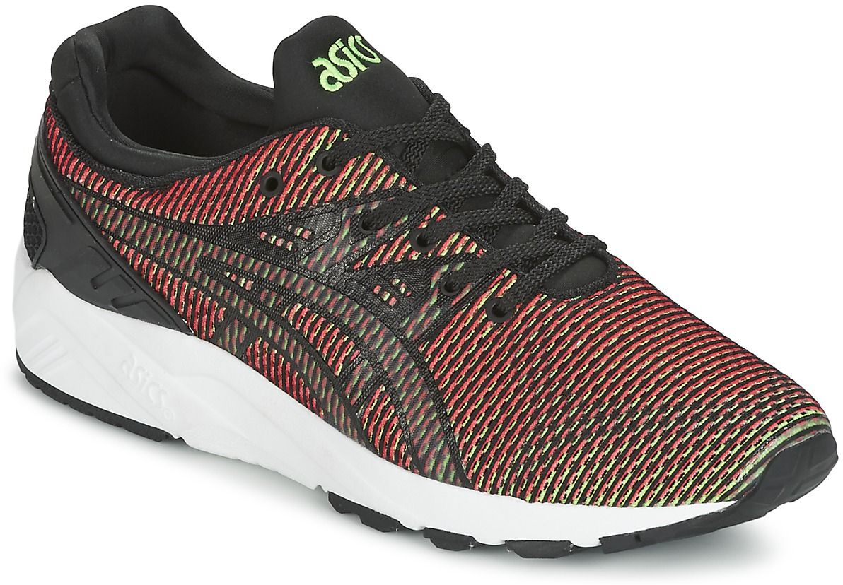 asics gel kayano mens red red trainers mens