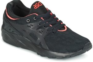 asics gel kayano womens black black trainers womens