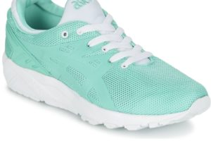 asics gel kayano womens green green trainers womens