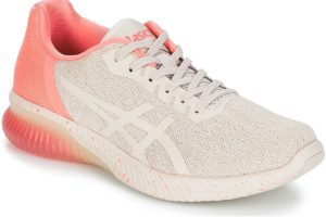 asics gel kenun womens beige beige trainers womens