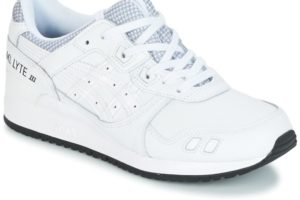 asics gel lyte 3 womens white white trainers womens