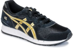 asics gel movimentum womens black black trainers womens
