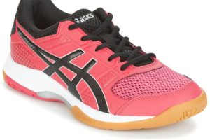asics gel rocket womens pink pink trainers womens