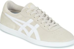 asics percussor mens beige beige trainers mens