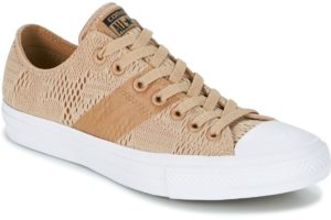 converse all star ox mens beige beige trainers mens