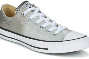 converse all star ox womens grey grey trainers womens