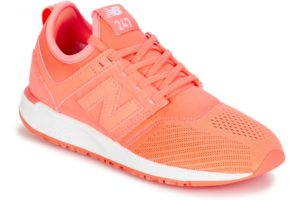 new balance 247 womens orange orange trainers womens