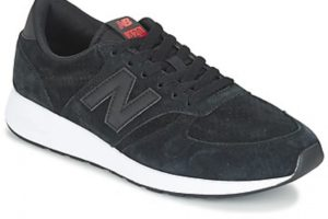 new balance 420 womens black black trainers womens