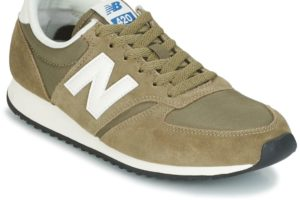 new balance 420 womens green green trainers womens