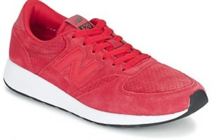 new balance 420 womens red red trainers womens