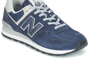new balance 574 mens blue blue trainers mens
