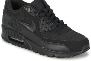 nike air max 90 mens black black trainers mens