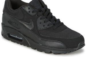 nike air max 90 mens black black trainers mens