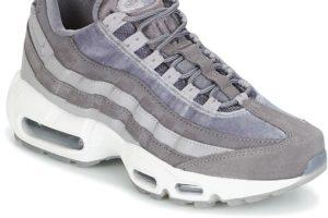 nike air max 95 womens grey grey trainers womens