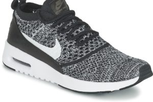 nike air max thea womens black black trainers womens