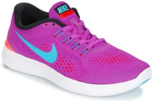 nike free womens purple purple trainers womens