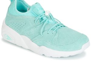 puma blaze of glory womens blue blue trainers womens