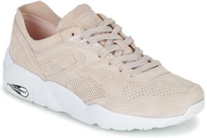 puma r698 womens pink pink trainers womens