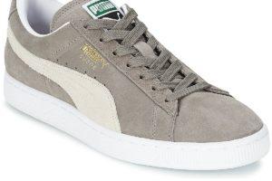 puma suede womens grey grey trainers womens