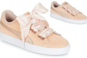 puma suede womens pink pink trainers womens