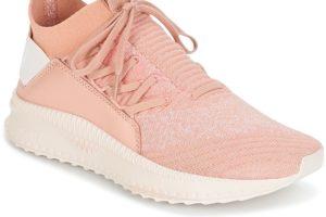 puma tsugi womens pink pink trainers womens