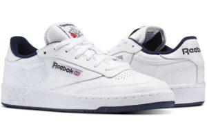 reebok-club c 85-Unisex-white-AR0457-white-trainers-womens
